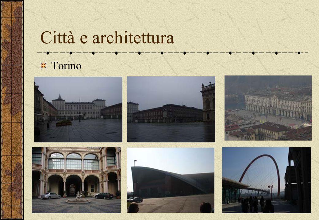 Città e architettura Torino