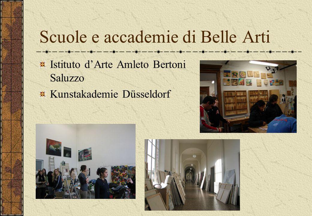 Scuole e accademie di Belle Arti Istituto dArte Amleto Bertoni Saluzzo Kunstakademie Düsseldorf