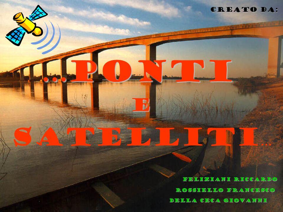 Della ceca giovanni feliziani riccardo feliziani riccardo Rossiello francesco … ponti Creato da: satelliti … e