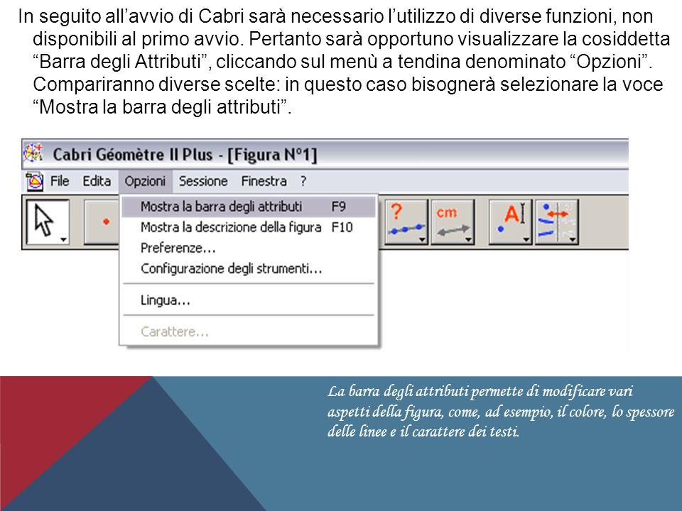 PRIMI DISEGNI CON CABRI Realizzato da Daniel Bulgarini e Matteo Co CLASSE 2°C LICEO PASCAL MANERBIO