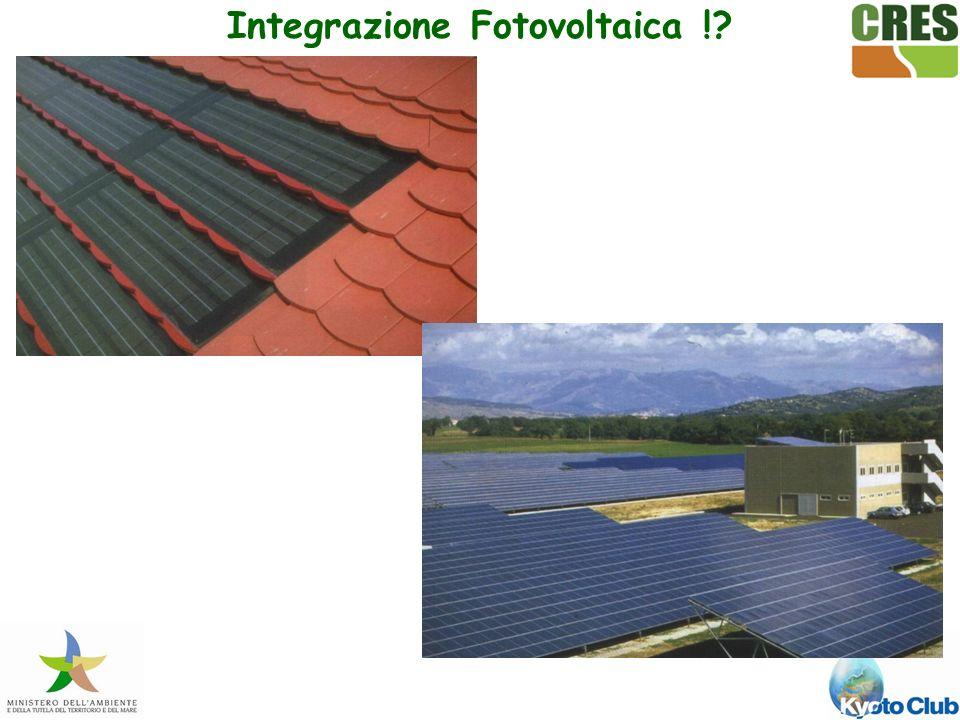 Integrazione Fotovoltaica !?