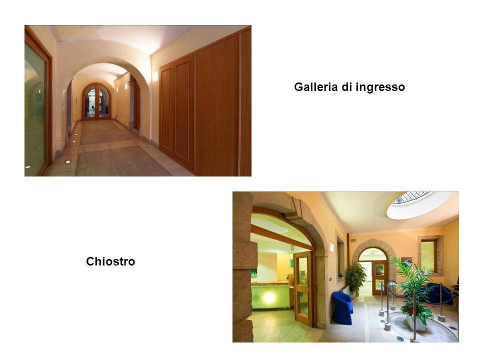 6 Galleria di ingresso Chiostro