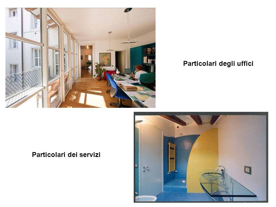 8 Particolari degli uffici Particolari dei servizi