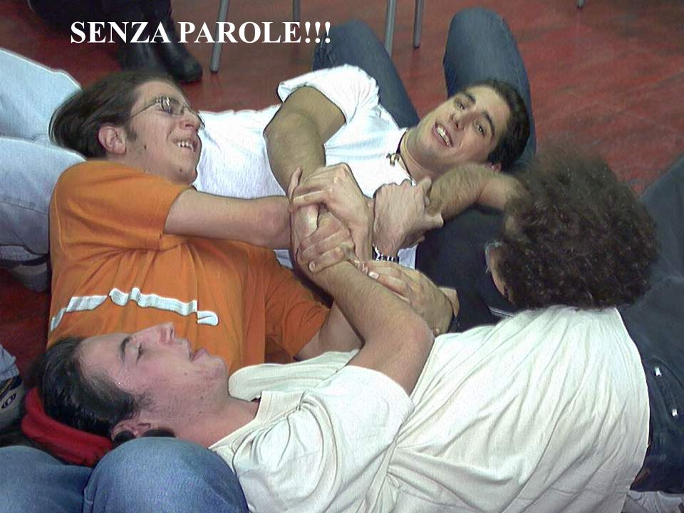 SENZA PAROLE!!!