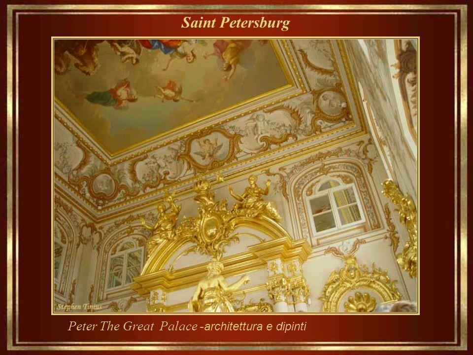 Saint Petersburg Pietro Il Grande Palazzo - la fonte del