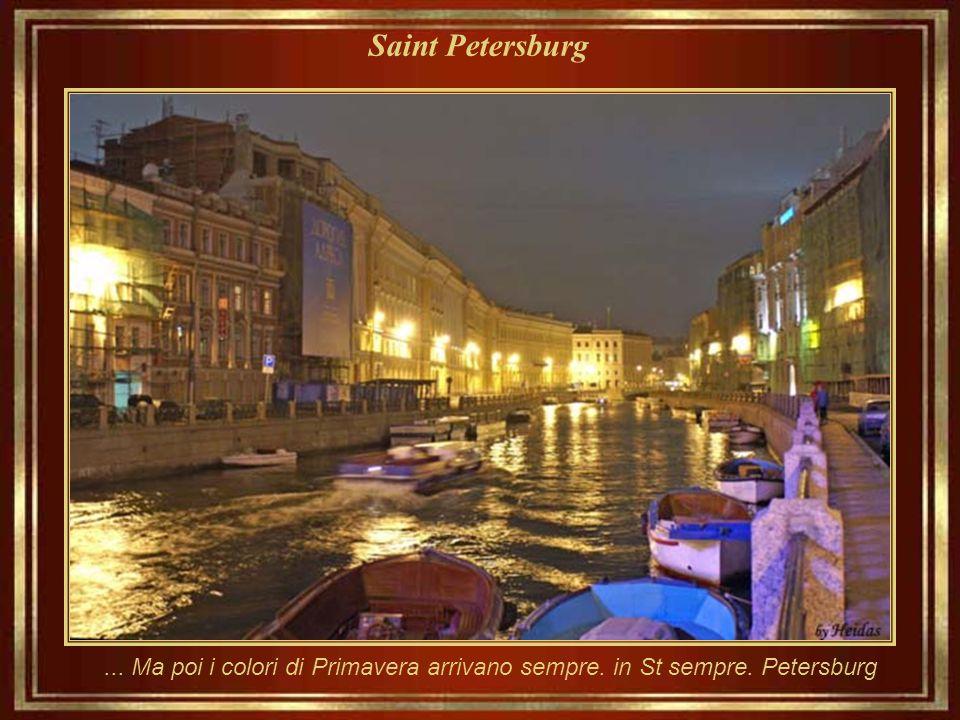 Saint Petersburg... La stessa area... In un giorno di inverno attivo...