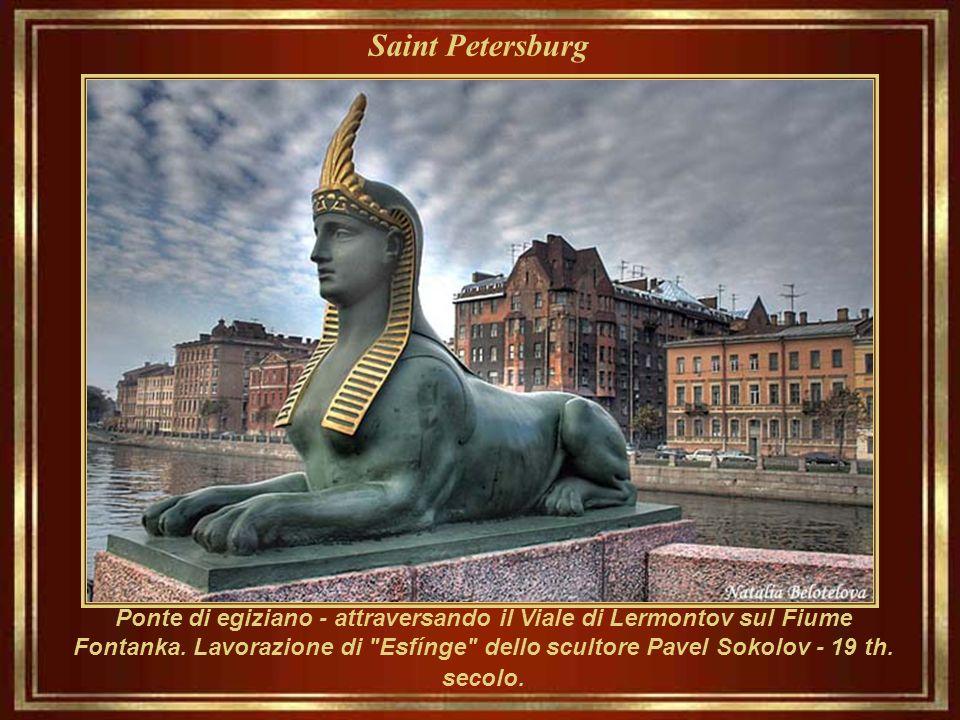 Saint Petersburg Monumento al corriere di acqua. Museo e complesso amministrativo di Vodokanal