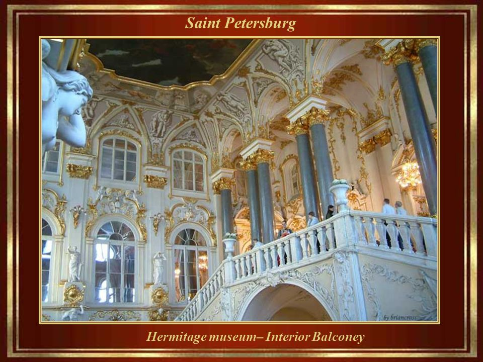 Saint Petersburg Catherine il Grande era LA prima occupante imperiale.