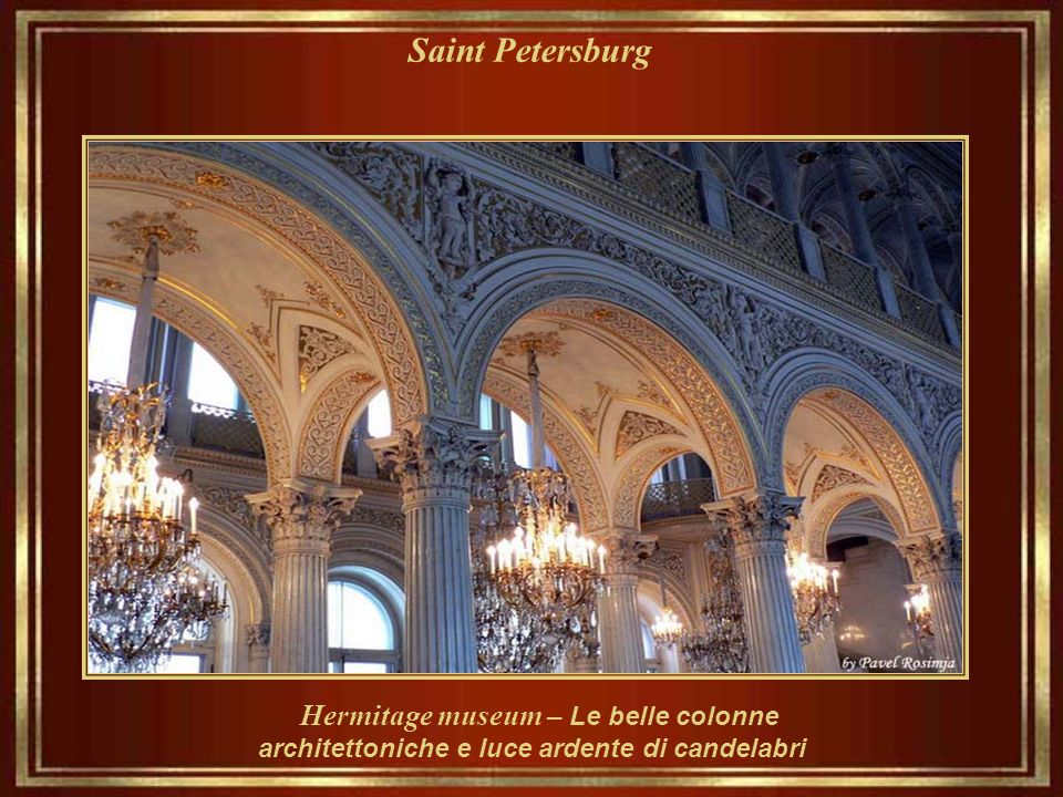Saint Petersburg Hermitage museum– Interior Balconey