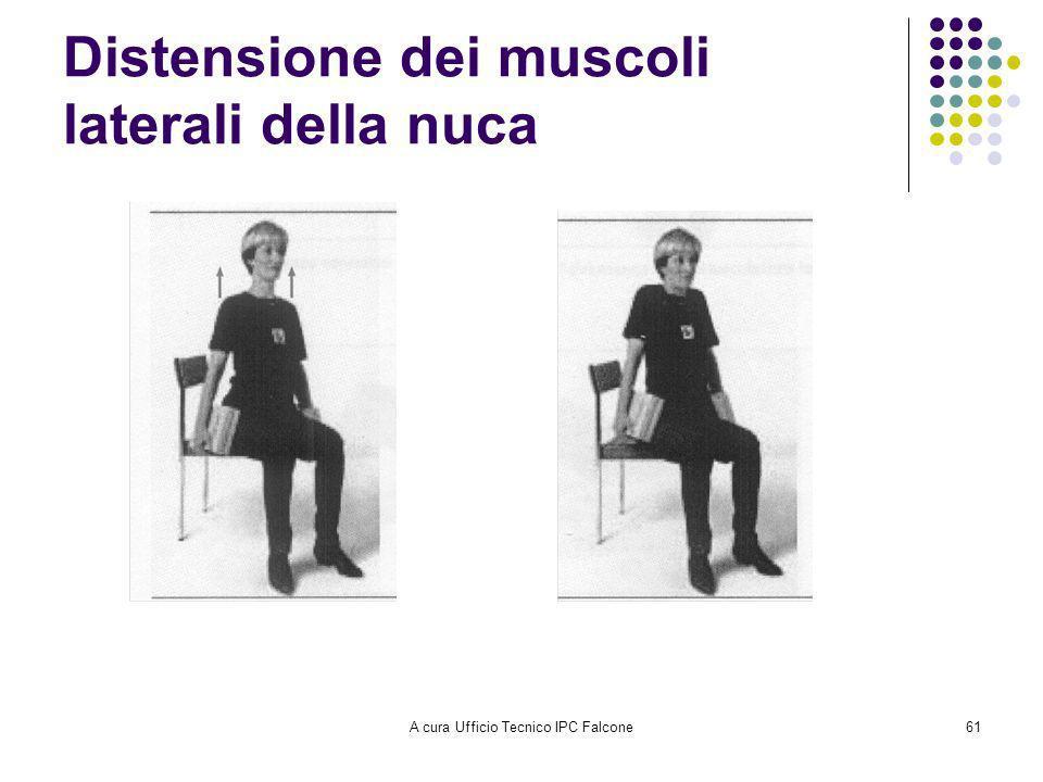 A cura Ufficio Tecnico IPC Falcone61 Distensione dei muscoli laterali della nuca