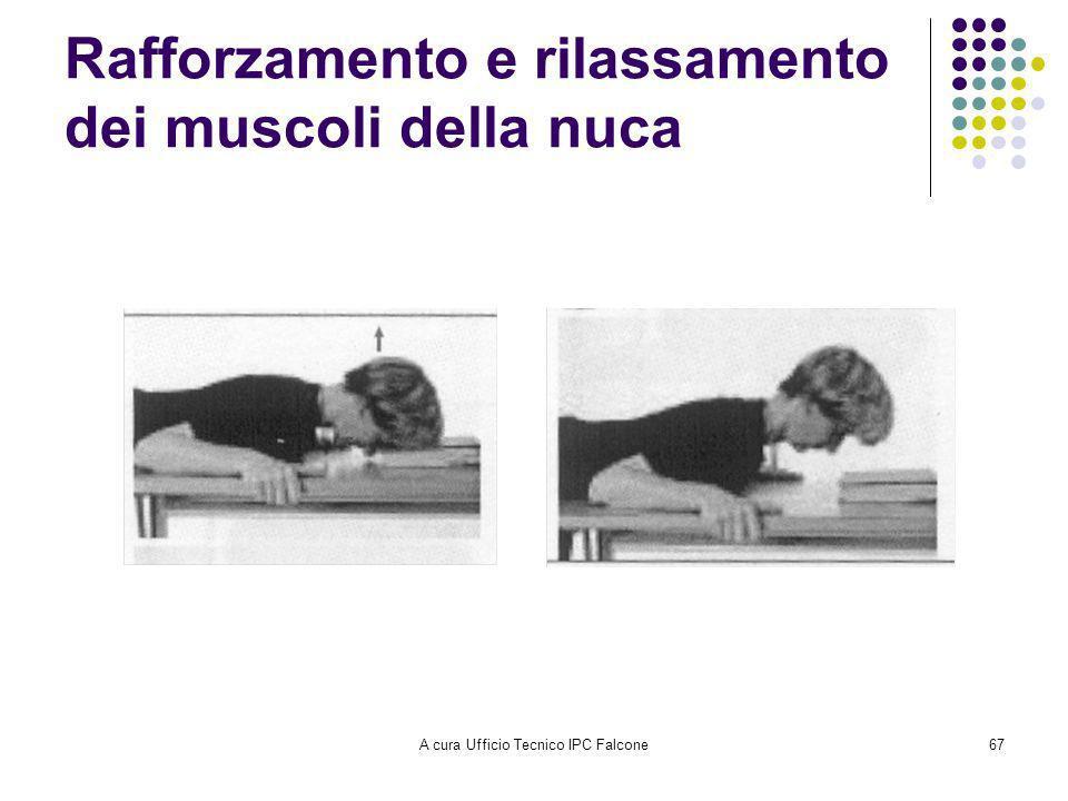 A cura Ufficio Tecnico IPC Falcone67 Rafforzamento e rilassamento dei muscoli della nuca