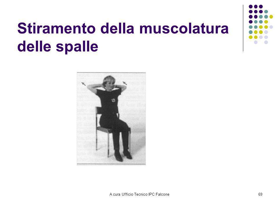 A cura Ufficio Tecnico IPC Falcone69 Stiramento della muscolatura delle spalle