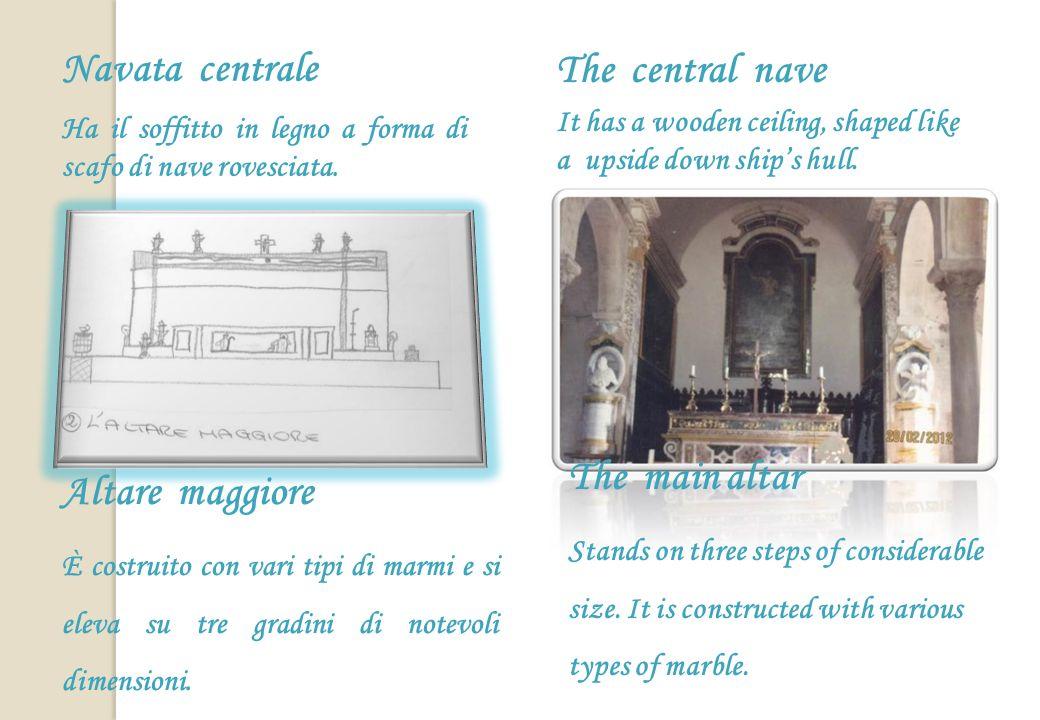 Abside destro Qui cera lantica porta daccesso alla basilica, prima della trasformazione a croce greca.