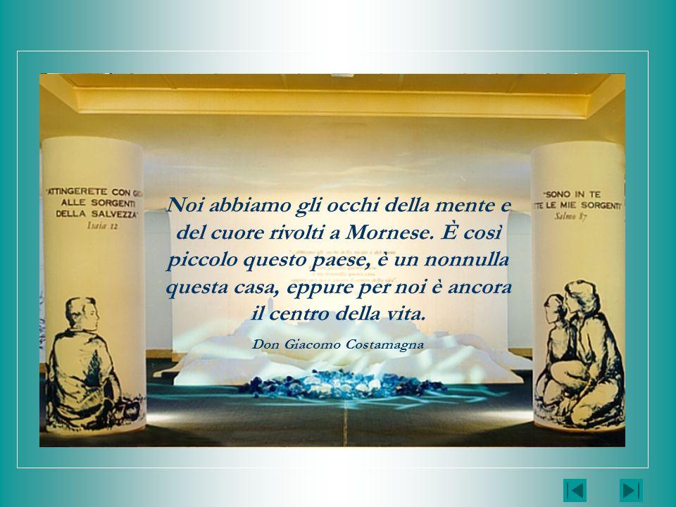 LAMBIENTE IL PERCORSO 2/3 Casa Generalizia FMA Roma GUIDA ALLA MOSTRA DEL CARISMA FMA LINGRESSO LAMBIENTE LA SORGENTE Nella serie dei cinque quadri (v.