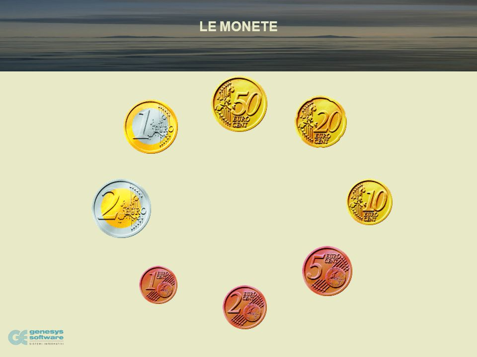 LE MONETE