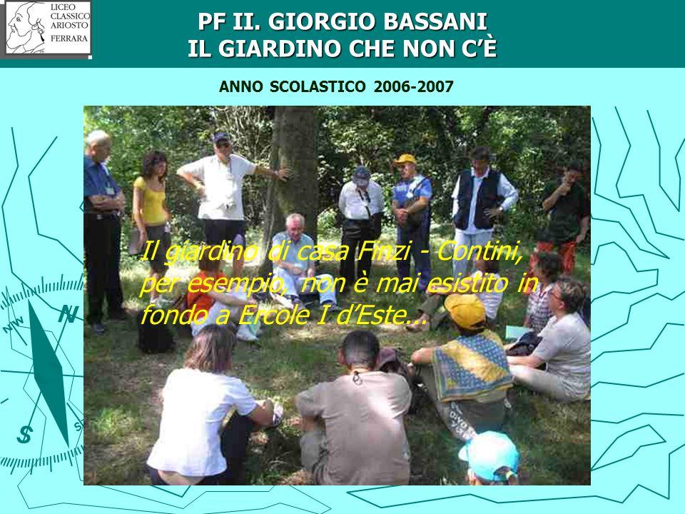 Crediti ANNO SCOLASTICO 2006-2007 SULLE ORME DEGLI ESTENSI TRA TERRA E ACQUA: docente di riferimento Silvana Onofri.
