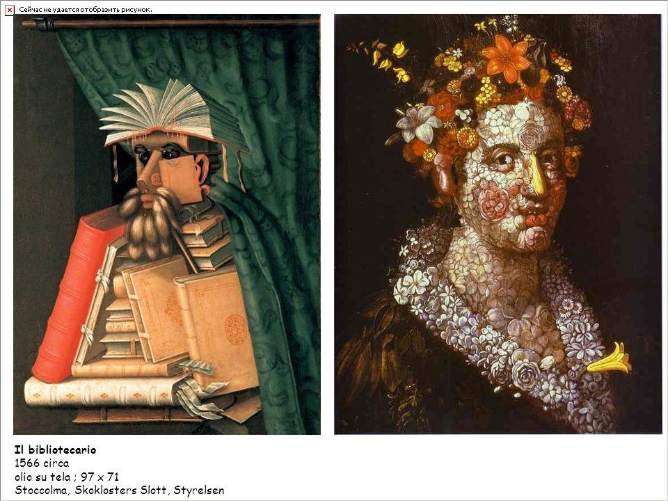 LE QUATTRO STAGIONI 1573 Olio su tela, 66 x 50 cm Parigi, Musee du Louvre LInvernoLa Primavera