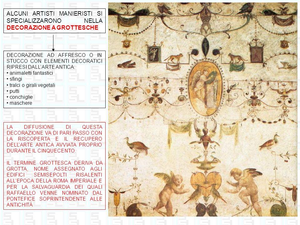 IL MANIERISMO SI SVILUPPÓ ANCHE NELLA SCULTURA CON IL FIAMMINGO JEAN DE BOULOGNE NOTO IN ITALIA CON LO PSEUDONIMO DI GIAMBOLOGNA (1529 – 1608) Il ratto delle Sabine 1582 circa, marmo, 410 cm Firenze, Loggia dellOrcagna Mercurio Volante 1564 circa, bronzo, 170 cm Firenze, Museo del Bargello