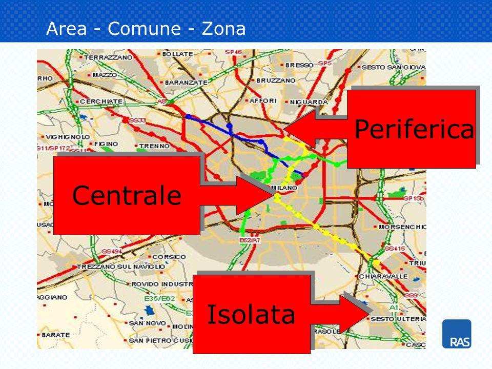 Area - Comune - Zona Centrale Periferica Isolata