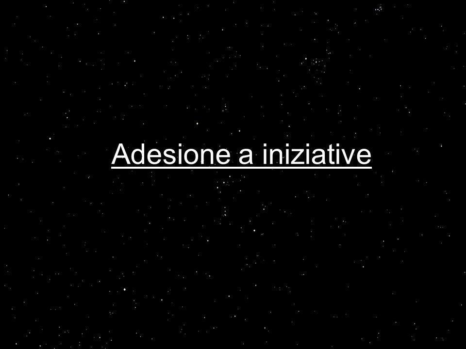 Adesione a iniziative