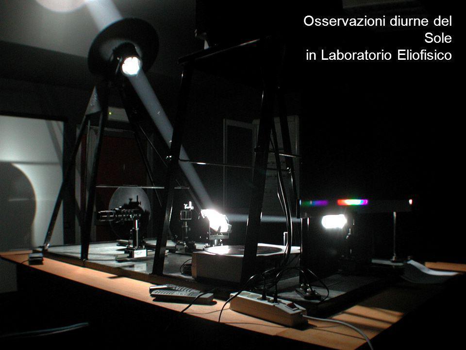 Osservazioni diurne del Sole in Laboratorio Eliofisico