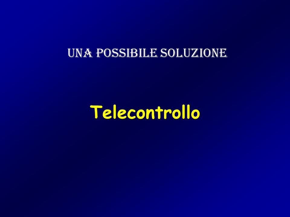 Telecontrollo Una possibile soluzione
