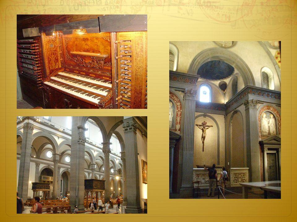La storia La basilica di San Lorenzo è la più antica di Firenze fu costruita per 2 volte: una nel 1059 (in stile romanico) e la seconda (grazie anche all apporto della famiglia dei Medici) secondo il progetto di Brunelleschi (dal 1418 al 1421) e, dopo la sua morte, ultimata da Antonio Manetti nel 1461.