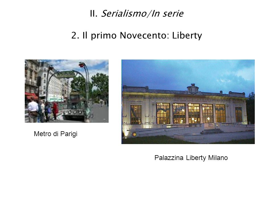 II.Serialismo/In serie 2.