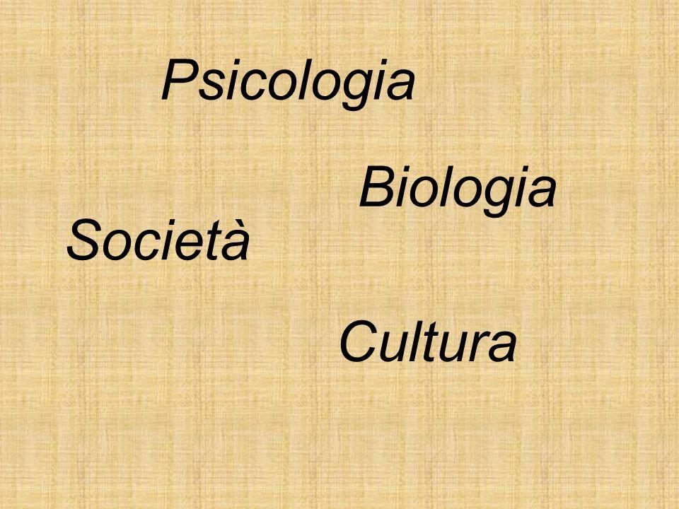 Psicologia Biologia Società Cultura