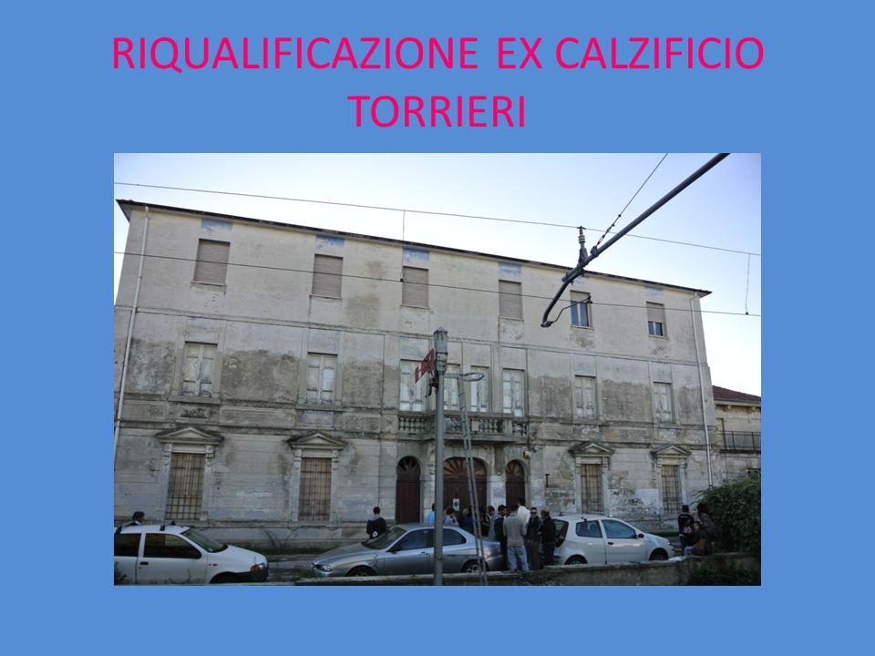 LATO POSTERIORE EDIFICIO TORRIERI
