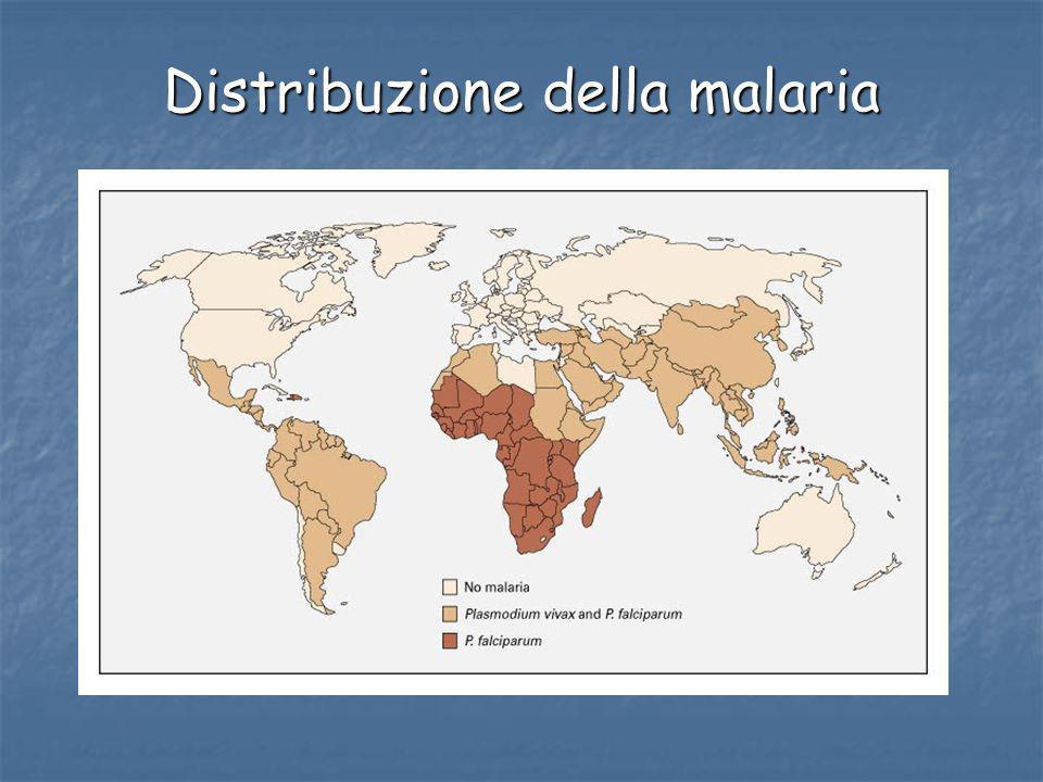 Distribuzione della malaria