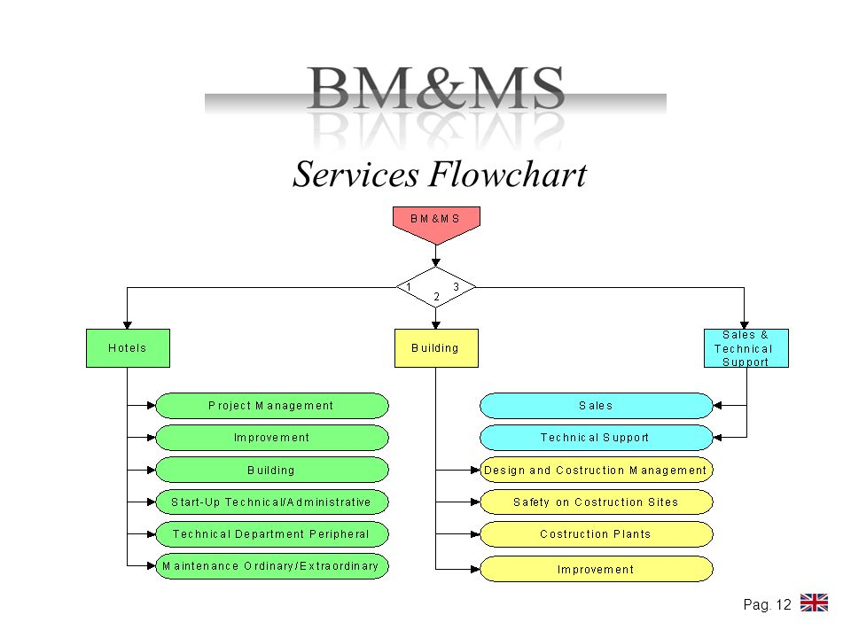 Services Flowchart Pag. 12