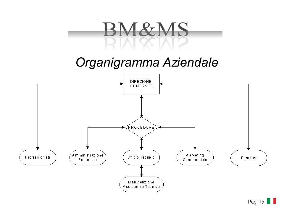 Organigramma Aziendale Pag. 15