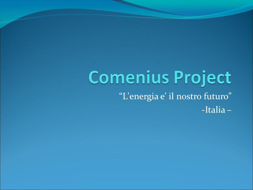 L'energia e' il nostro futuro -Italia –