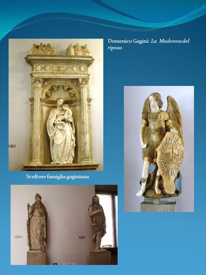 Domenico Gagini: La Madonna del riposo Sculture famiglia gaginiana
