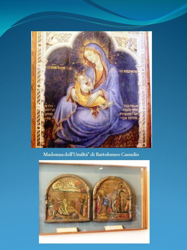 Madonna dellUmiltà di Bartolomeo Camulio