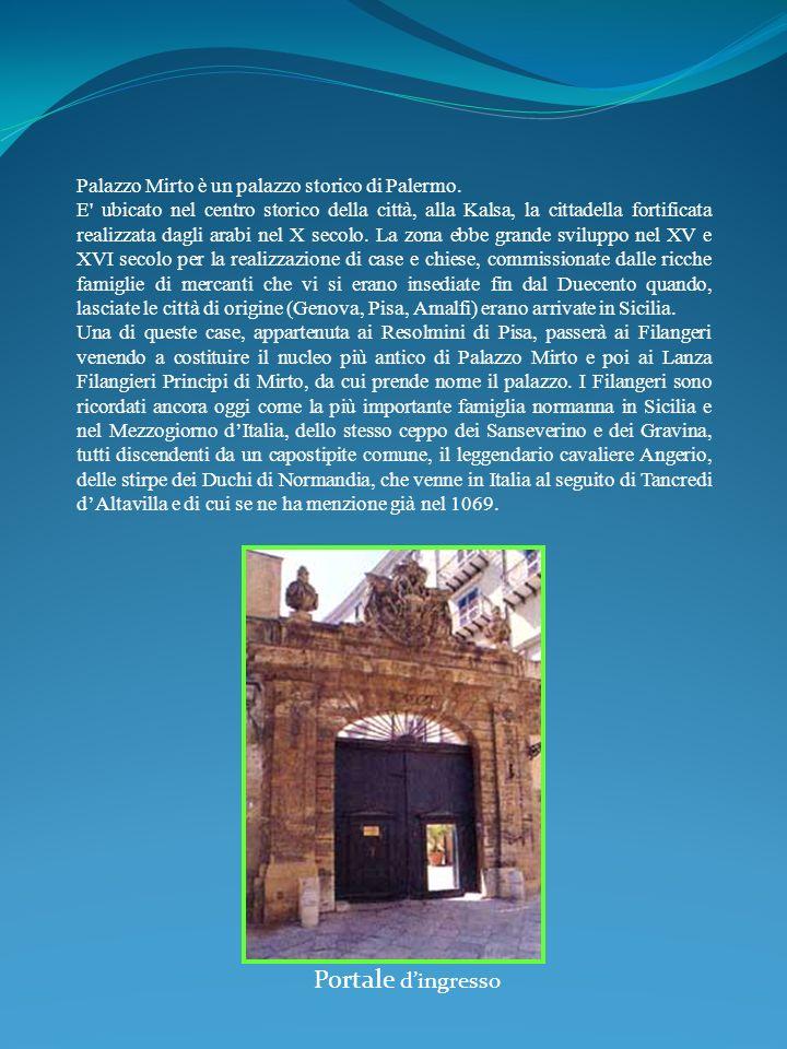 Palazzo Mirto è un palazzo storico di Palermo. E' ubicato nel centro storico della città, alla Kalsa, la cittadella fortificata realizzata dagli arabi