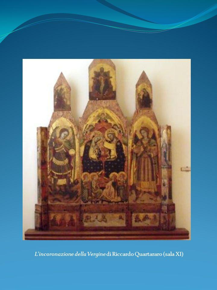 L'incoronazione della Vergine di Riccardo Quartararo (sala XI)