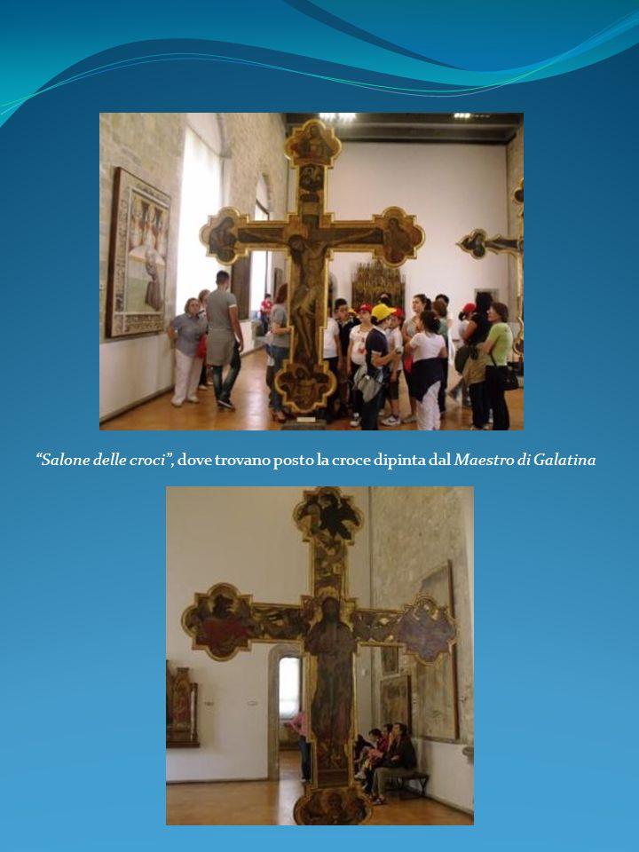 Pale e trittici di scuola siciliana Salone delle croci, dove trovano posto la croce dipinta dal Maestro di Galatina