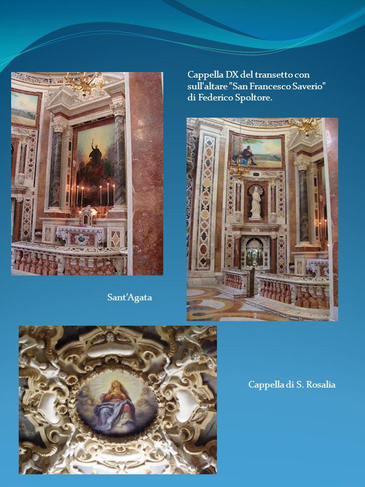 Cappella DX del transetto con sull'altare