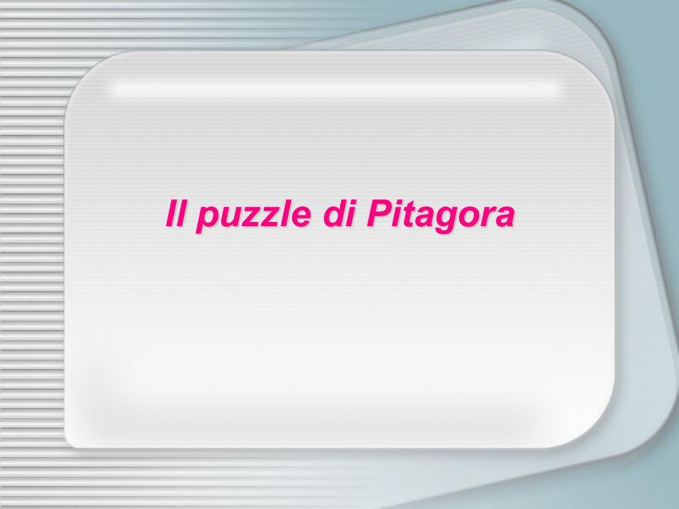 Il puzzle di Pitagora