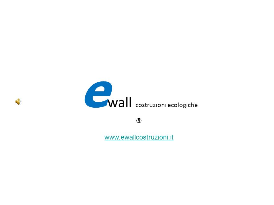 partiture interne portanti (95 mm) muri perimetrali portanti (248 mm) e wall costruzioni ecologiche ®