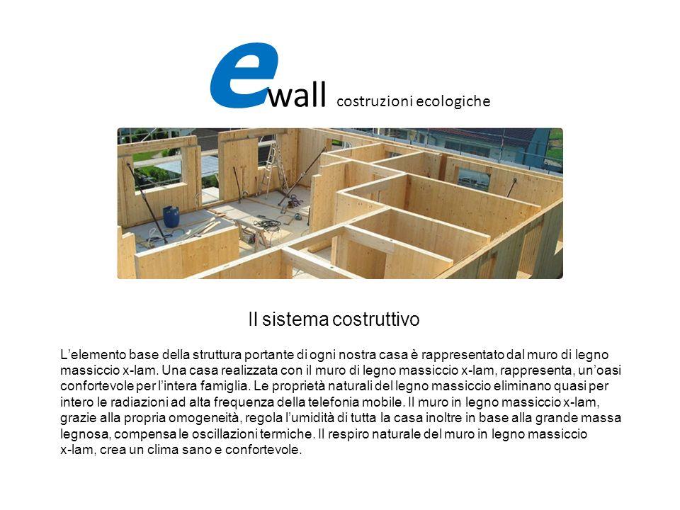 Il sistema costruttivo Lelemento base della struttura portante di ogni nostra casa è rappresentato dal muro di legno massiccio x-lam. Una casa realizz