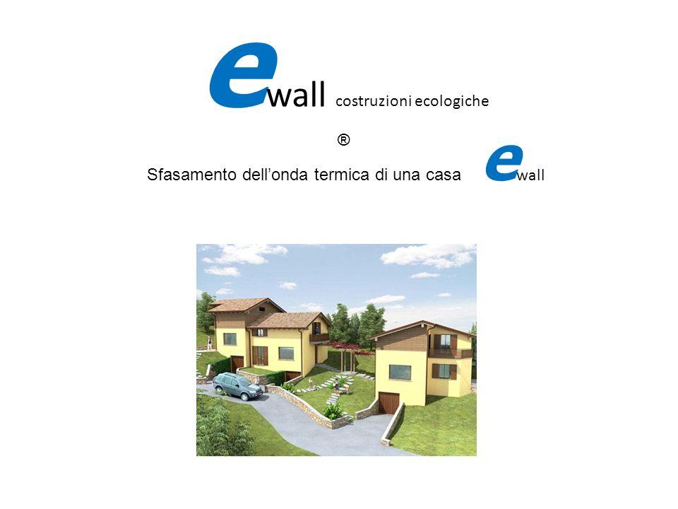 fifi Sfasamento dellonda termica di una casa e wall e wall costruzioni ecologiche ®