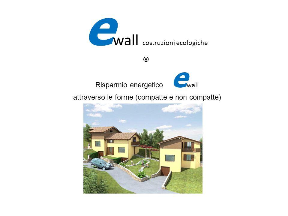 fifi Risparmio energetico e wall attraverso le forme (compatte e non compatte) e wall costruzioni ecologiche ®