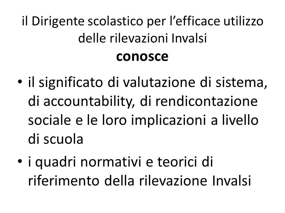 la struttura delle prove e del report Invalsi il significato di valore aggiunto le normative relative alla valutazione degli apprendimenti e le disposizioni specifiche riguardanti gli alunni DVA, DSA e stranieri