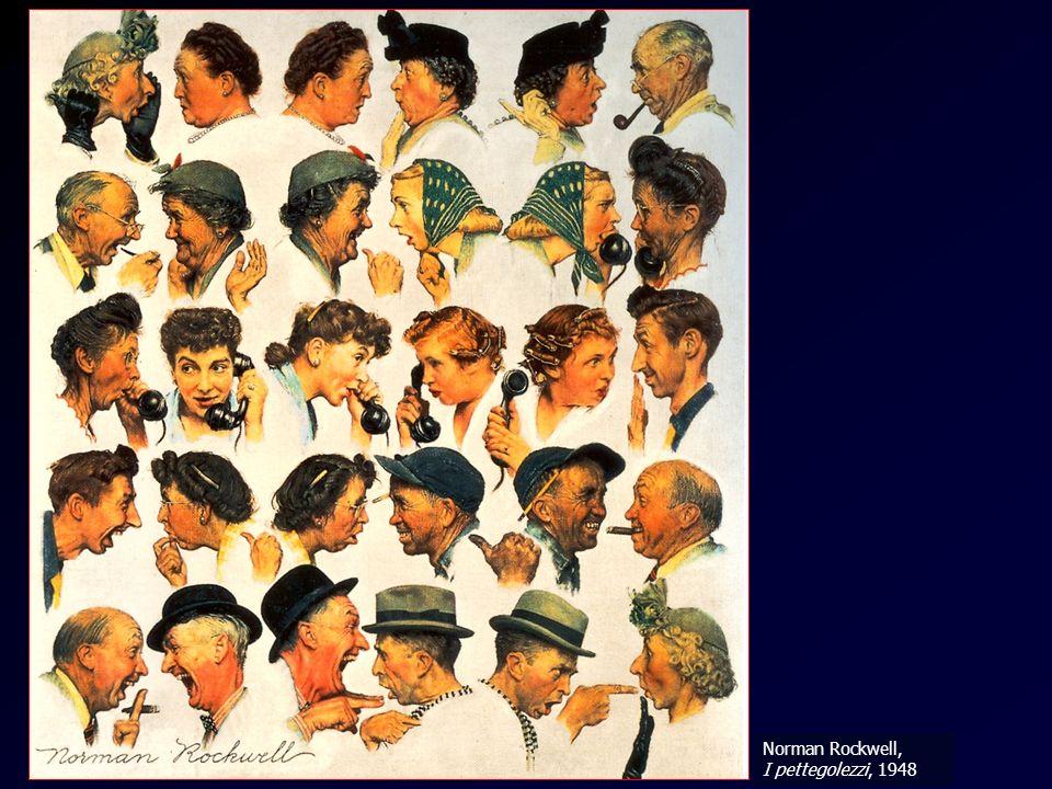 Concatenazione - Rockwell Norman Rockwell, I pettegolezzi, 1948
