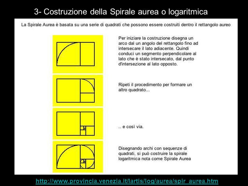 3- Origini della Sezione aurea Qual e l origine della sezione aurea.