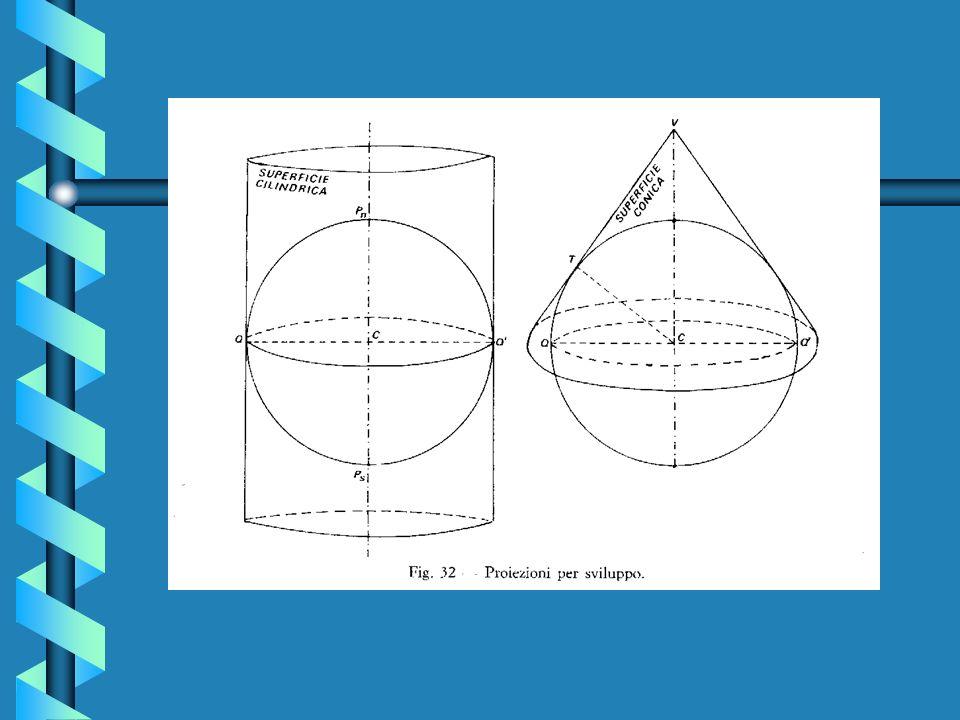 1.4 Le Rappresentazioni Le Rappresentazioni sono delle carte che si ottengono con degli artifizi matematici per conferire loro una delle proprietà di