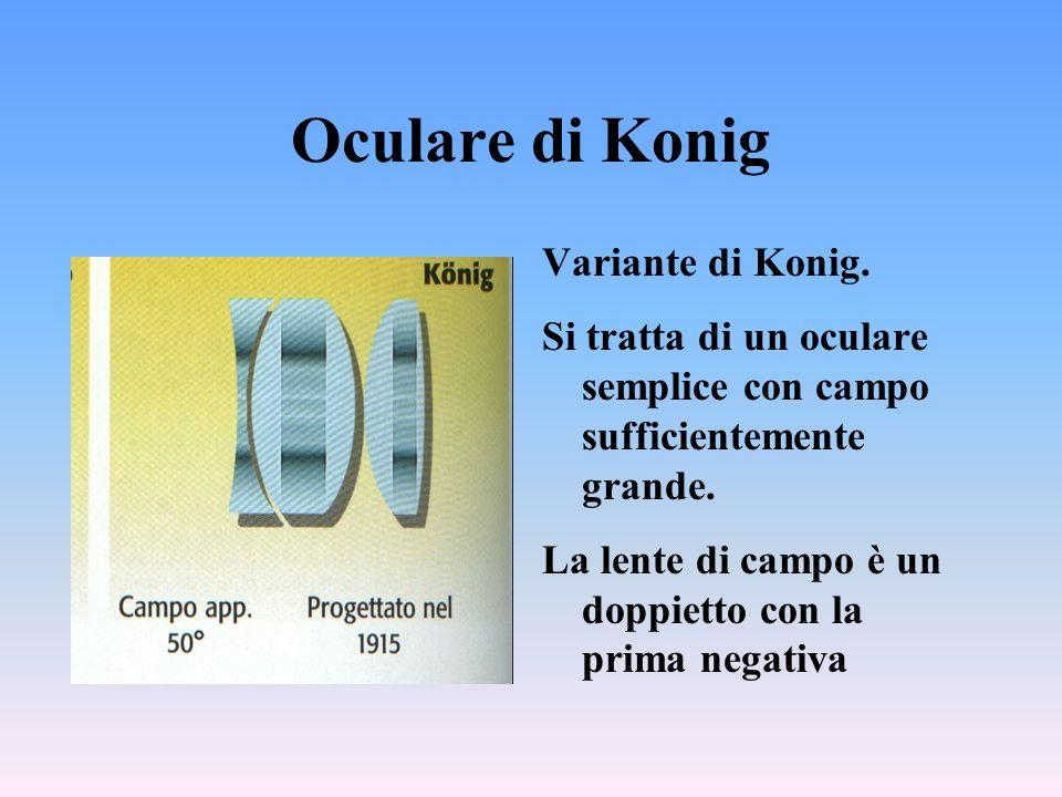 Oculare di Konig Variante di Konig.